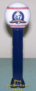 New York Yankees 27th World Series Championship MLB Pez
