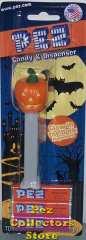 2012 Halloween Pumpkin Pez Mint on Card
