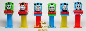 Thomas the Train mini pez