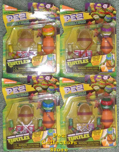 Teenage Mutant Ninja Turtles Connectibles Set of 4 mint in package