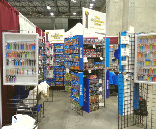 Planet Comicon Pez Collectors Store Booth 3116