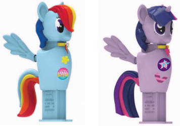 My Little Pony Pez Connectibles