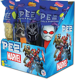 2018 Marvel Pez Assortment with Ant Man Pez