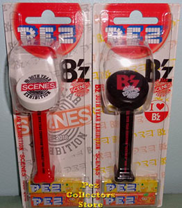B'z 30th Year Scenes Exhibition Pez Set MOC