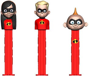 European Incredibles 2 Pez