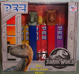 Jurassic World Pez Twin Pack