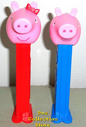 European Peppa Pig and George Pez Loose