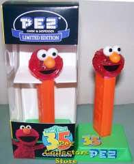 Limited Edition Crystal Elmo Pez
