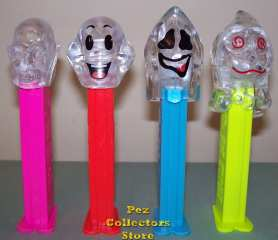 Colorless Crystal Ghosts pez Set