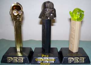 Crystal Star Wars Pez set