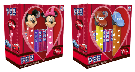 Disney Couples Mickey and Minnie and Lightning and Sally Valentines Day