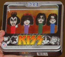 KISS Pez Gift Set