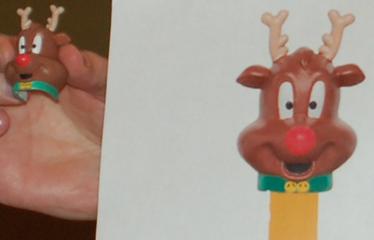 2012 Reindeer Pez