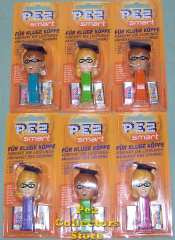 Pez Smart Vitamin Dispensers Set of 6