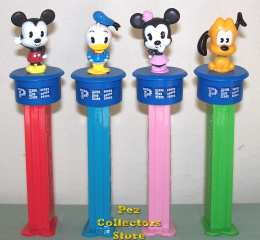 Disney Cuties Click and Play Pez Set
