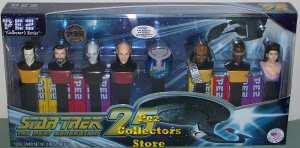 Star Trek TNG Locutus Pez set