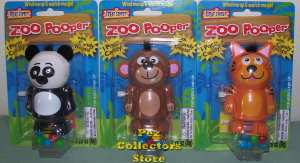 Panda, Monkey and Tiger poopers