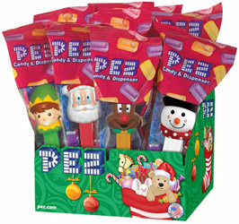 Christmas 2014 Pez Set