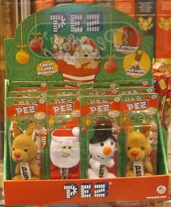 Christmas Plush Pez