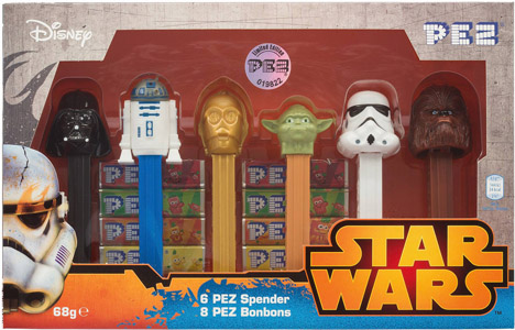 European Limited Edition Star Wars Boxed Pez Set