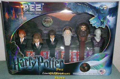 Limited Edition Harry Potter Pez Collectors Set
