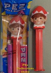 2016 Red Elf on a Shelf Pez
