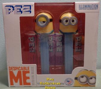 Despicable Me Minion Pez Twin Pack