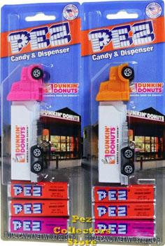 Dunkin Donuts Promotional Pez Trucks
