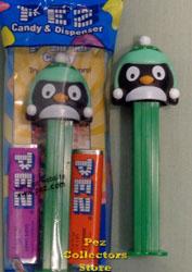 Green Penguin Pez
