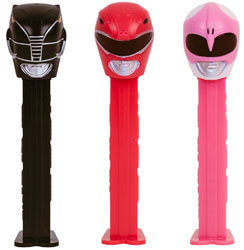 Power Ranger Pez Set
