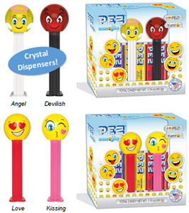 Crystal Angel and Devilish Emoji Twin Pack
