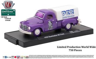 M2 Machines purple Studebaker Chase truck