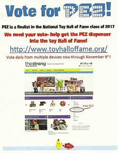 vote for PEZ!