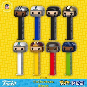 NFL Helmets POP! PEZ Bundle