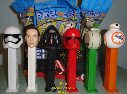 Star Wars Episode 9 Pez Assortment Mint in Bag