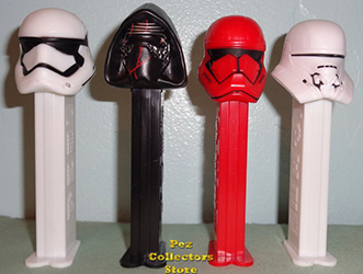 Star Wars Ep. 9 Pez with Exclusive Jet Trooper Loose