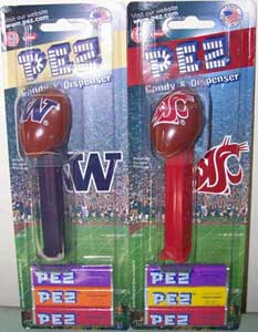 Washington State and University of Washington Pez