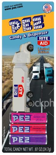 RiteAid Pharmacy Exclusive Pez Hauler Rig