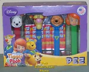 My Friends Tigger and Pooh Pez Gift Set