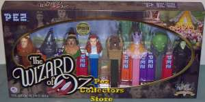 Wizard of Oz 70th Anniversary Pez Gift Set