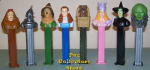 Wizard of Oz Pez set loose