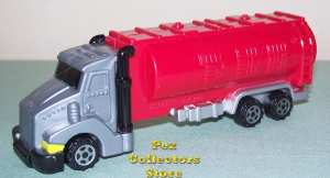 Eurotransporter with big Smoke Stacks and Tanker Trailer