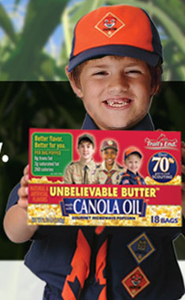 Shawn Jordan selling Popcorn for Cub Scouts - click to order