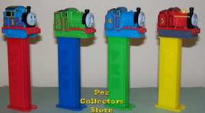Thomas, Henry, Gordon and James Pez Loose