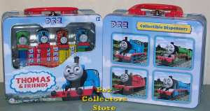 Thomas & Friends Pez Lunchbox Gift Tin