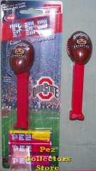 Ohio State Brutus Buckeye Football Pez MOC