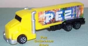 Eurobully Truck Pez with large Smokestacks
