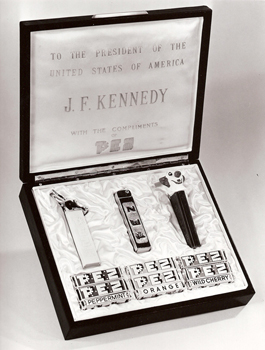 JFK Pez Gift Set
