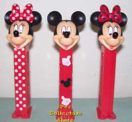 Mickey and Minnie Stylish Pez Set
