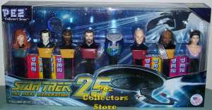 Star Trek the Next Generation Pez set